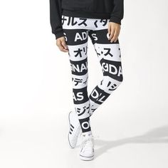 adidas - TYPO LEGGINS