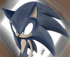 The hedgehog by: KitsuneFusion on deviantART