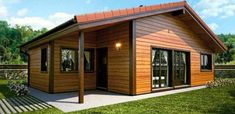 Fachadas de casas con techo chapa y dos aguas fotos fotos de fachadas en 2018 pinterest - Casas prefabricadas alcorcon ...
