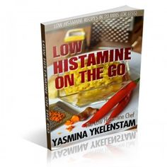 article -- just eating releases some histamine.  juices/smoothies/soups reduce the amount released