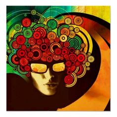 -psychedelic pop art poster
