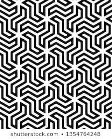 Lattice with hexagonal cells. Geometric Patterns, Geometric Tattoo Pattern, Geometric Stencil, Geometric Mandala, Geometric Designs, Textures Patterns, Pattern Images, Vector Pattern, Pattern Art