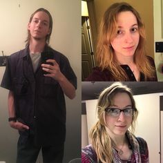 73 best Before/after images on Transgender People, Transgender Girls, Mtf Hrt, Mtf Before And After, Mtf Transition, Male To Female Transformation, Why Do Men, Wife And Girlfriend, Crossdressers