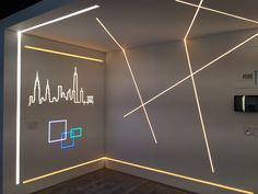 LightFair 2015   Pure Lighting booth 1239   TruLine 1.6A and TruLine .5A   New York #Skyline made in #LED #lights
