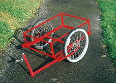 Links to different types of DIY Bike Trailers