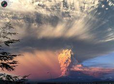 Calbuco Volcano Erupts in Chile