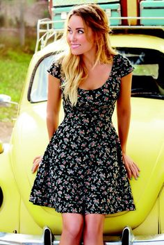 Floral dress #fashion