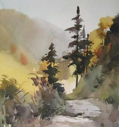 Art Of Watercolor: Some Watercolor Beauty #watercolorarts