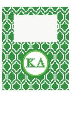 KappaDelta Pic Frame;available in other sororities!! more@ newbeginningdesigns.com