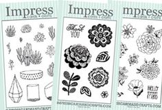 New clear sets from Impress!