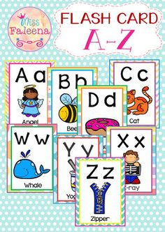 This product contains Alphabet Letters A to Z upper and lowercase with picture in each card. These cards can be used for a range of purposes- such as letter recognition or for games with students and Pre-K children.