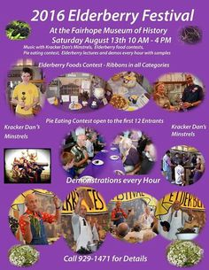 Will you be going to the Elderberry #Festival in #Fairhope this Saturday at Fairhope Historical Museum? #RobertsdaleDentalCare Friends of the Fairhope Museum of History