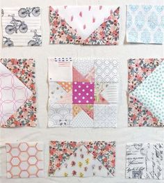 Thank you so much for joining me in the Little Miss Sawtooth Stars Quilt Along! I'm excited and grateful that you are here! If you are here for the very first time, you can read more about… Star Quilt Blocks, Star Quilts, Scrappy Quilts, Baby Quilts, Memory Quilts, Mini Quilts, Nancy Zieman, Low Volume Quilt, Charm Quilt