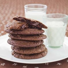Death by Chocolate Cookies Recipe : Cooking.com Recipes