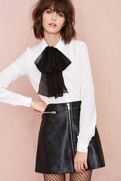 Zip Line Skirt   Shop Skirts at Nasty Gal