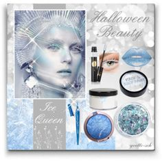 Ice Queen Makeup  DIY Halloween