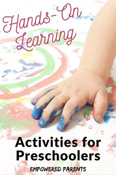 Hands-on learning is the best way for little minds to develop. Try these fun hands-on learning activities at home with your toddlers, preschool and kindergarten kids. Kinesthetic Learning Style, Auditory Learning, Preschool Learning Toys, Learning Toys For Toddlers, Indoor Activities For Toddlers, Hands On Learning, Learning Through Play, Fun Learning, Motor Activities