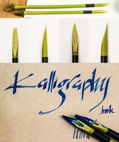 Bamboo Calligraphy Pen