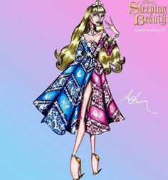 'Aurora' Disney Princess Couture Collection by @aaronrodrigo15  Be Inspirational ❥ Mz. Manerz: Being well dressed is a beautiful form of confidence, happiness & politeness