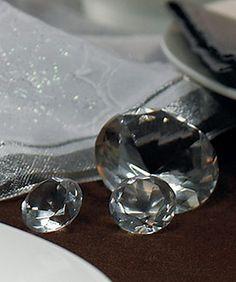 Diamond Reception Table Decorations as low as $10.38 #diamondweddingdecorations