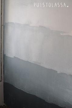 Best fabulous ombre wall paint designs and ideas 2 – Artofit Park City, Fiberglass Pool Cost, Arte Yin Yang, Half Painted Walls, Diy Furniture Decor, Interior Paint Colors, Paint Designs, Textured Walls, Interior Design Living Room