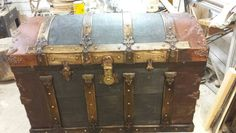 Restored trunk...  only took 2yrs