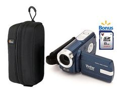 Walmart ~ Vivitar HD Digital Video Recorder (Camcorder) with bonus memory card just $32.68!