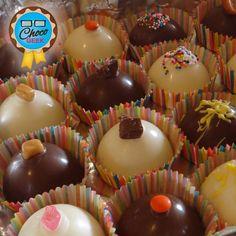 Pedido de bombones surtidos #ChocoGeek. Muchos rellenos para elegir!