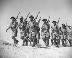 Maori Battalion training at Maadi, Egypt.