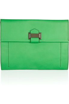 Kit leather clutch by Reed Krakoff