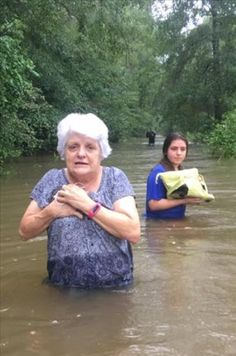 Great Flood of 2016: Perseverance During Uncertainty Leaving behind 70 years in her home Holden, Louisiana Aug 14