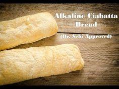 Alkaline Vegan Ciabatta Bread - Dr Sebi Alkaline Inspired Food Vegan Bread - Ciabatta (Alkaline) - Y Alkaline Diet Plan, Alkaline Diet Recipes, Alkaline Breakfast, Diet Breakfast, Alkaline Bread Recipe, Ciabatta Bread Recipe, Dr Sebi Recipes, Vegan Bread, Delicious Vegan Recipes