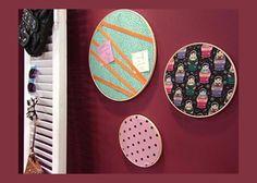 Conheça como criar um porta-recados de tecido em um tutorial bem prático de aprender!