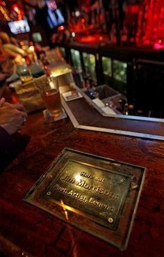 Jim Morrison seat at Barney's Beanery. Commemorate by the band in 2008 Jim Morison, The Doors Jim Morrison, Morrison Hotel, Debbie Gibson, American Poets, Light My Fire, Lady And Gentlemen, People Like, Jdm