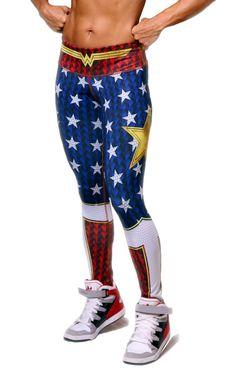Exit 75 - Wonder Woman Leggings
