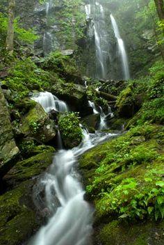Lee Falls in Sumter National Forest Walhalla, South Carolina #bucklist