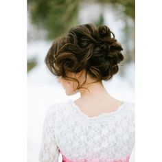 20 Beautiful Bridal Updos Romantic Wedding Hair for 2013 Brides ❤ liked on Polyvore