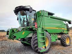 2013 John Deere W540 Harvest Time, Vehicles, Tractors, Car, Vehicle, Tools