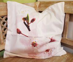 Kissenhülle Kirschblüte  Dekokissen / Kissen
