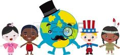Multicultural Kids With Mr  Earth