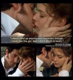 North and South. The kiss everyone was waiting for since the moment these characters met.