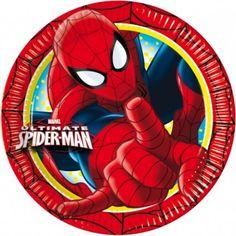 Partyteller 20cm Ultimate Spiderman