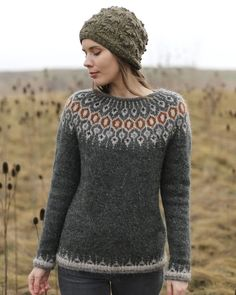 Free and Crochet Sweater Pattern! This Year Modern and Stylish Crochet Patte. , Free and Crochet Sweater Pattern! This Year Modern and Stylish Crochet Patte. , Free and Crochet Sweater Pattern! This Year Modern and Stylish Crochet Patte. Fair Isle Knitting Patterns, Sweater Knitting Patterns, Knitting Designs, Punto Fair Isle, Norwegian Knitting, Icelandic Sweaters, Nordic Sweater, Knitting Wool, Knitting Sweaters