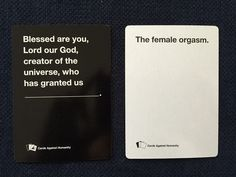 """Feminists Play Cards Against Humanity, And Let's Just Say The """"Consensual Sex"""" Card Is Deployed Often   Bustle"""