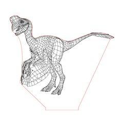 Oviraptor illusion lamp plan vector file for CNC - 3d Illusion Art, Vector File, Plexus Products, Laser Engraving, Cnc, Illusions, Coloring Books, Vectors, Lights