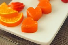 My favorite thing about our Sun-Kissed Fruit Chews is that it is actual fruit. They definitely are not like store-bought fruit snacks, no sugar added. Fruit Chews, Fruit Snacks, Baby Food Recipes, Gourmet Recipes, Cooking Recipes, Candy Recipes, Healthy Fruits, Healthy Snacks, Healthy Recipes