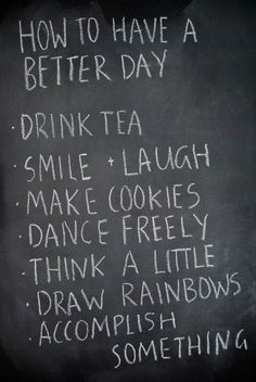 Glad to know I'm a step ahead on this one... do almost all of these on a daily basis <3