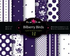 Background Paper Digital Scrapbooking Paper Purple and White Mix free