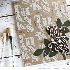 """Welcome to Throwback Thursday! Today, a few of our design team members are revisiting the Stacked Sentiments stamp set. """"Another day, another blog feature project! I was so excited to play with Stacked Sentiments for today's Throwback Thursday. The style is so bold and graphic and whimsical - all"""
