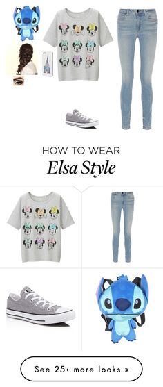 """DISNEY!:)"" by oliviamagic on Polyvore featuring Uniqlo, Alexander Wang, Converse and Disney"
